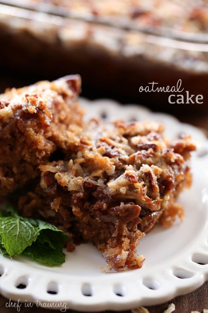 oatmeal-cake