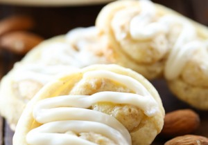 Almond Crisp Cookies from chef-in-training.com ...These cookies are so simple and the perfect quick sweet tooth fix! They are delicious!