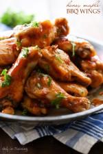 Honey Maple BBQ Wings