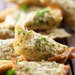 The BEST Garlic Bread from chef-in-training.com ....This recipe is SO delicious! The spread has the absolute best flavor - it makes for one universal and tasty side dish!