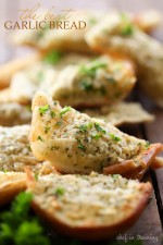 The BEST Garlic Bread Spread