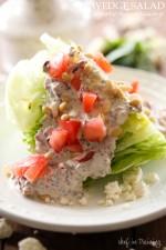 Wedge Salad with Savory Feta Dressing