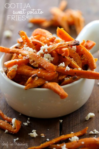 Cojito Sweet Potato Fries