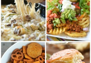 50+ People-Pleasing Appetizers... SO many option to choose from for your party needs! Your menu will be all the talk with any of these delicious ideas!