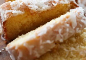 Coconut Pound Cake... This pound cake is SO moist and so delicious! It will quickly become a new favorite!