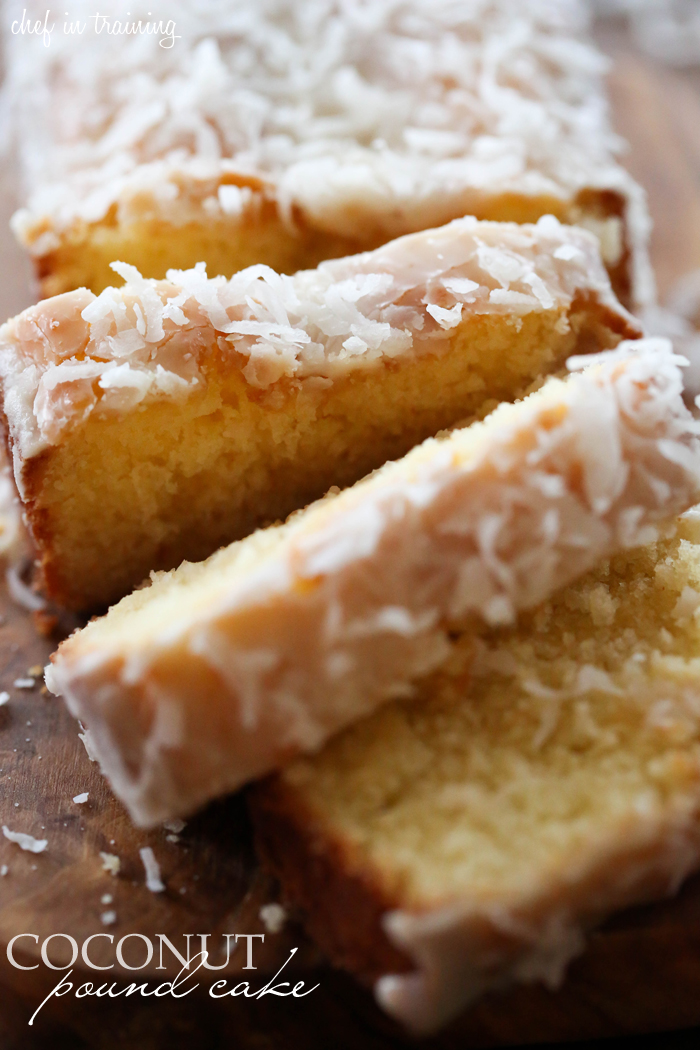 Coconut Pound Cake | Chef in Training