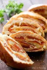 Provolone Pepperoni Bread