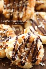 Samoa Thumbprint Cookies