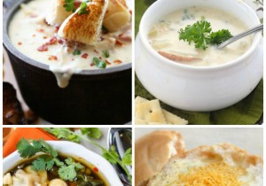 50 Amazing Soup Recipes at chef-in-training.com ...SO many unique and delicious options to choose from! The perfect round up for colder days!