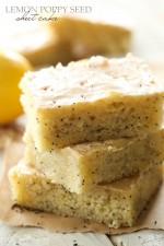 Lemon Poppy Seed Sheet Cake