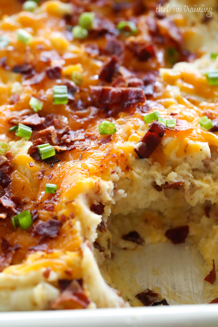Easy dinner recipes with mashed potatoes