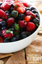 The BEST Berry Salsa