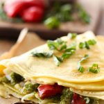 Turkey Pesto Crepes