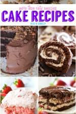 More Than 60 AMAZING Cake Recipes!