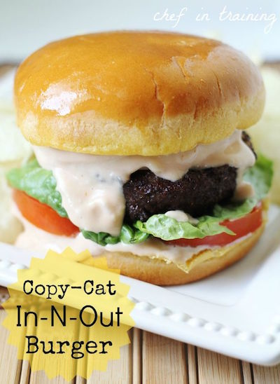 Copy Cat In-N-Out Burgers