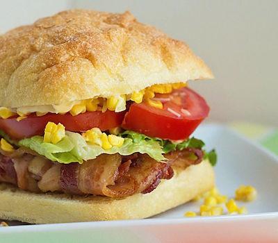BLT Esquites Sandwich
