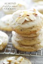 Almond Poppy Seed Cookies