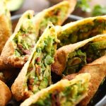 Avocado Egg Rolls... These are absolutely DIVINE! So much delicious flavor packed into one incredible appetizer! This will be one recipe you will want to make over and over again!