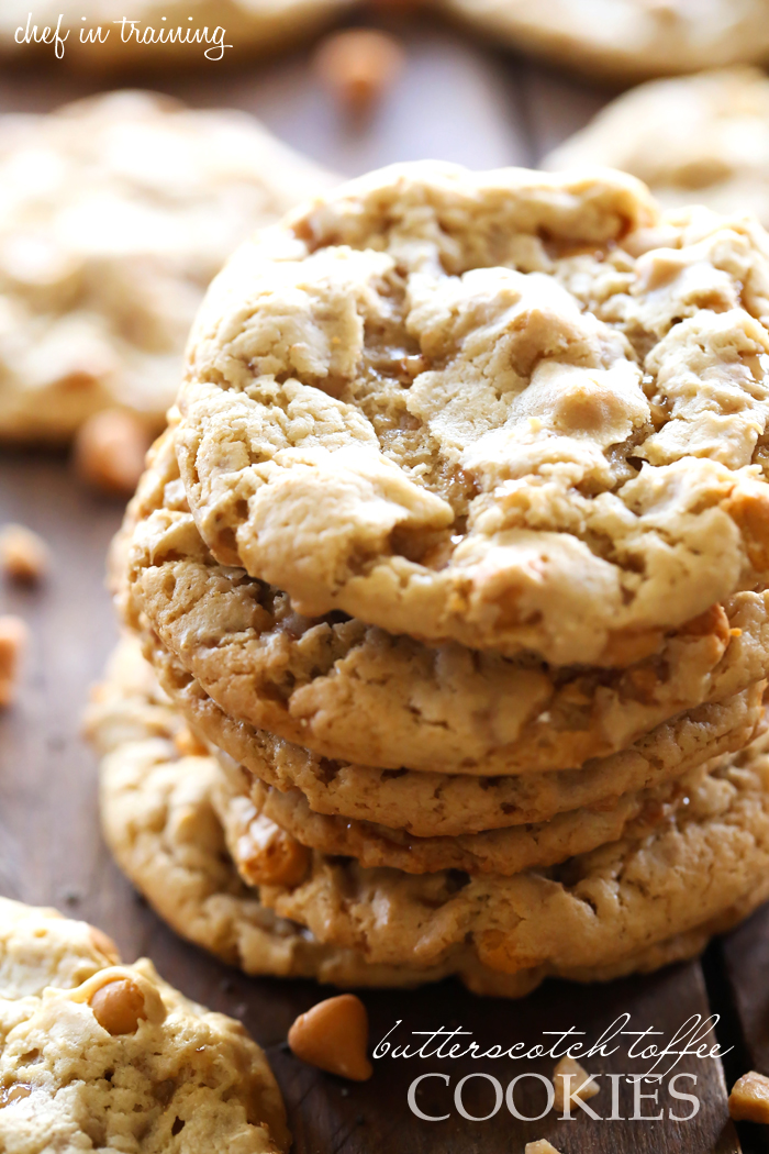Butterscotch Toffee Cookies... these cookies are fabulous! The flavor ...