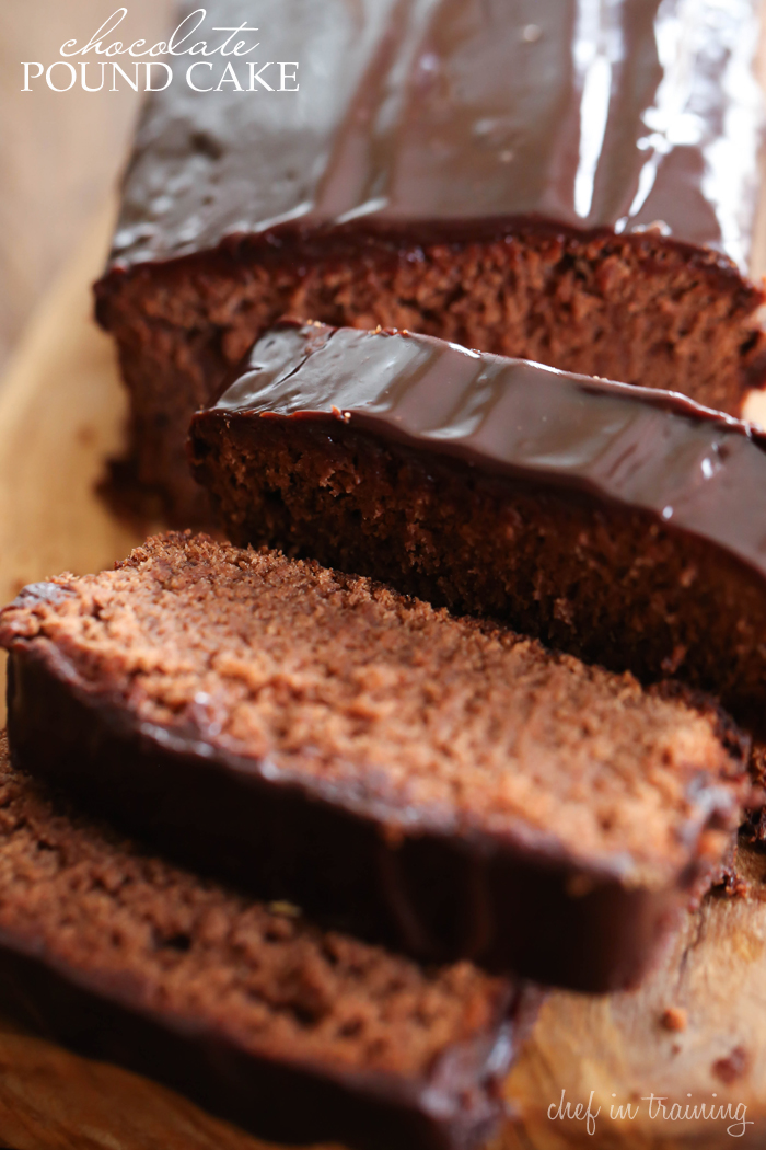 Chocolate Pound Cake... this recipe is rich, delicious and perfectly ...