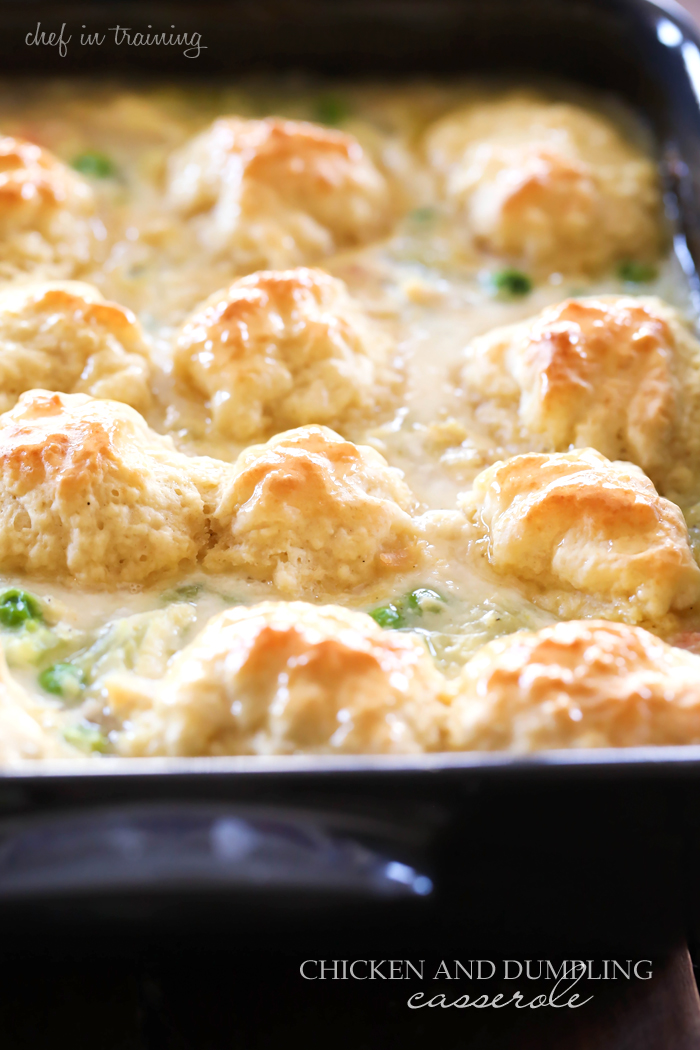 Chicken and dumpling casserole chef in training chicken and dumpling casserole this meal is so simple and full of flavor forumfinder Choice Image