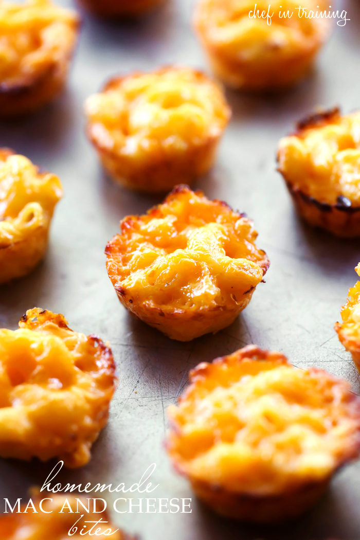 Homemade mac and cheese bites chef in training these are so simple and the perfect finger forumfinder Images