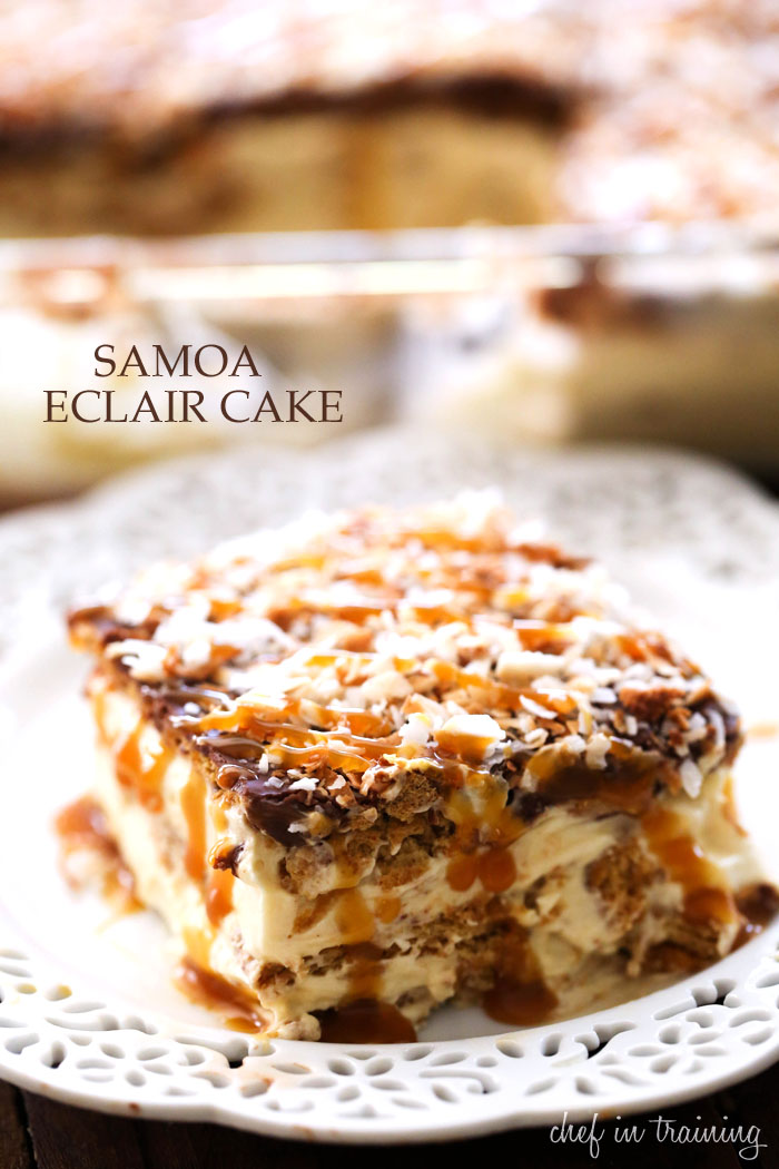Vanilla eclair cake recipes