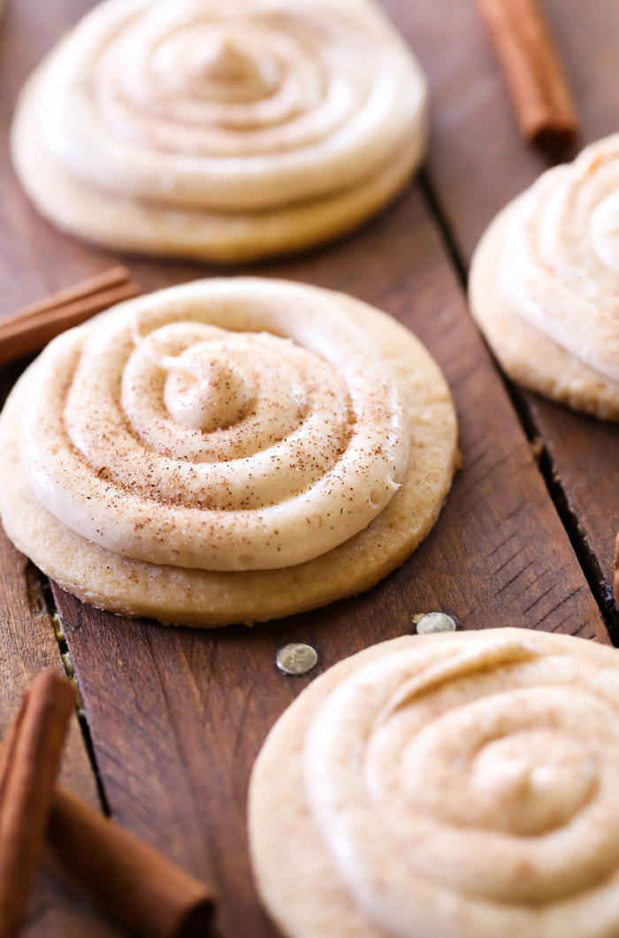 Cinnamon Roll Sugar Cookies Recipe | Chef in Training | Bloglovin'