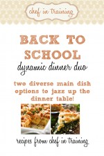 The Back to School Dynamic Dinner Duo
