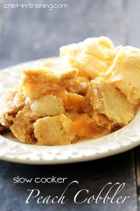 Slow-Cooker-Peach-Cobbler