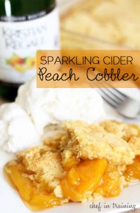 sparkling-cider-peach-cobbler