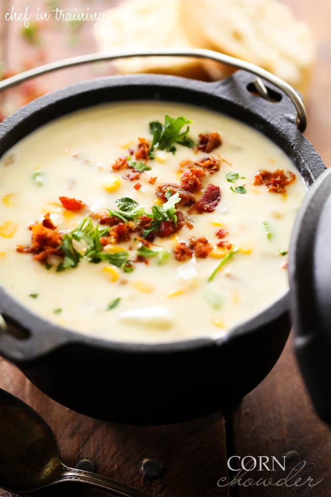 Corn Chowder... This recipe is PACKED with flavor and is a family ...