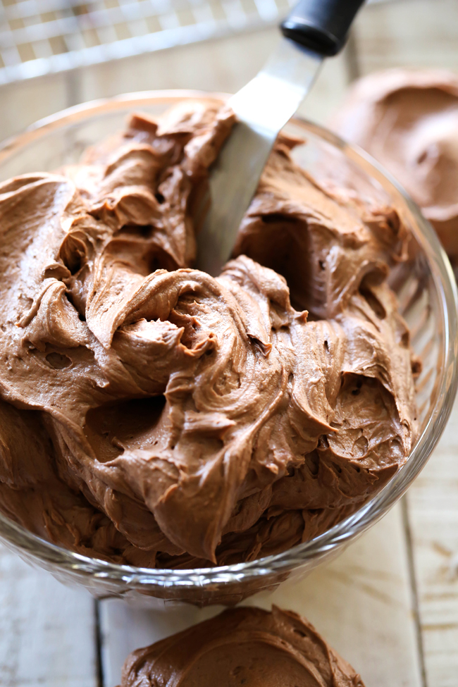 ... the perfect chocolate touch! It is my go-to chocolate frosting recipe