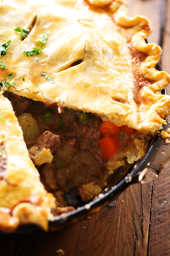Beef Pot Pie... This is a delicious meal packed with flavor and tasty ...