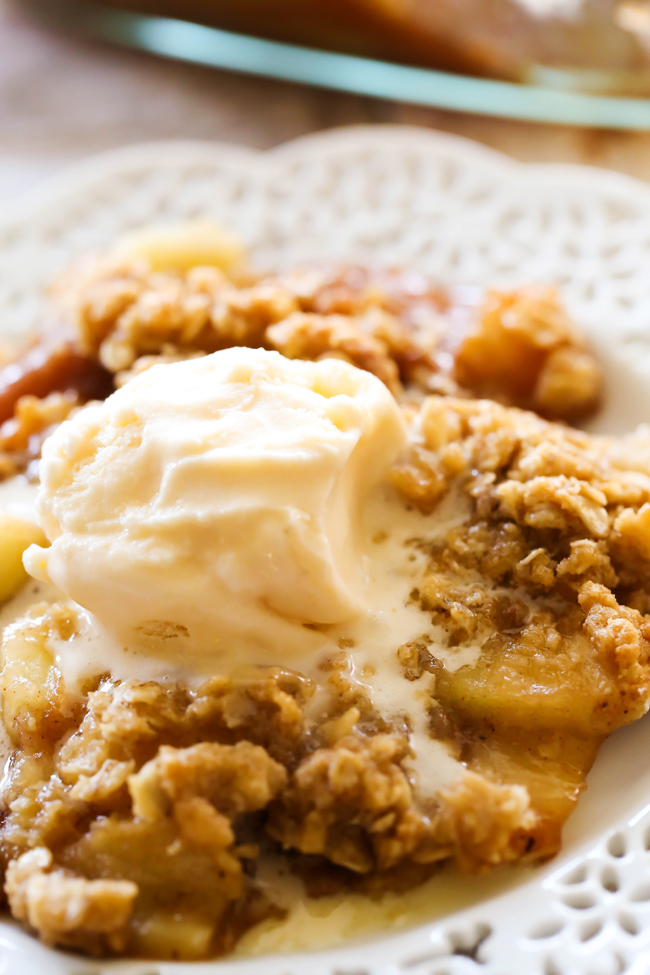 Easy Homemade Apple Crisp... this recipe is absolutely wonderful ...