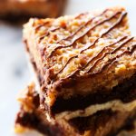 Layered Samoa Brownies