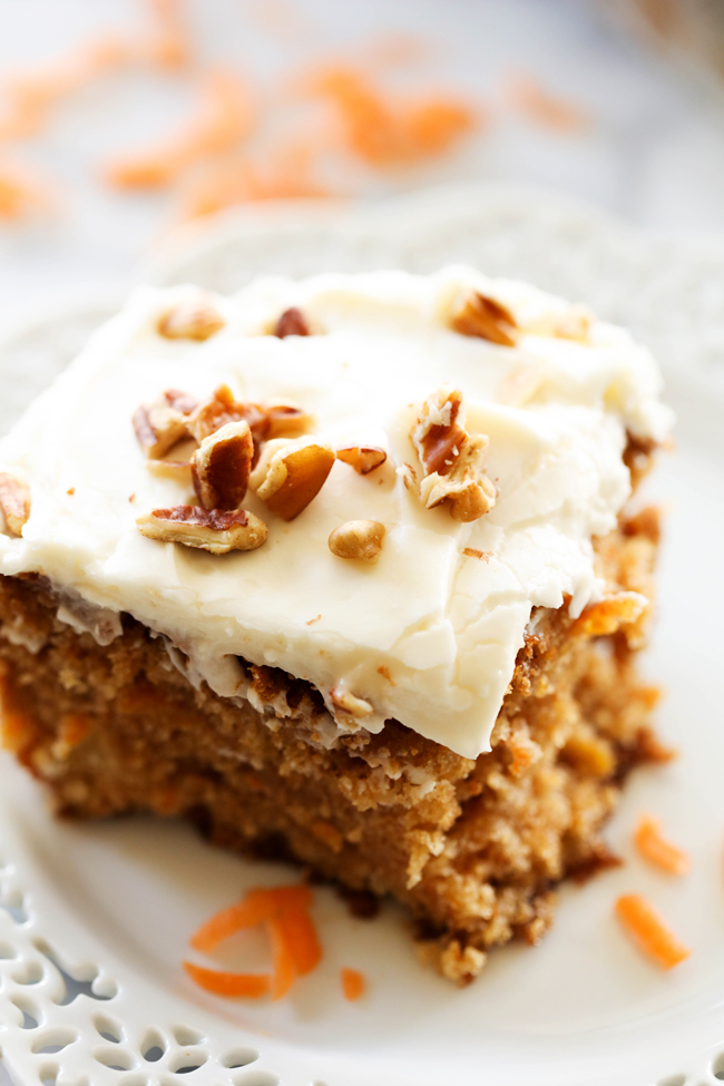 Deep And Delicious Carrot Cake