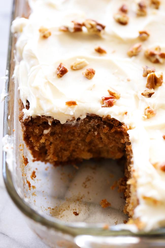 Secret Ingredient For Moist Cake