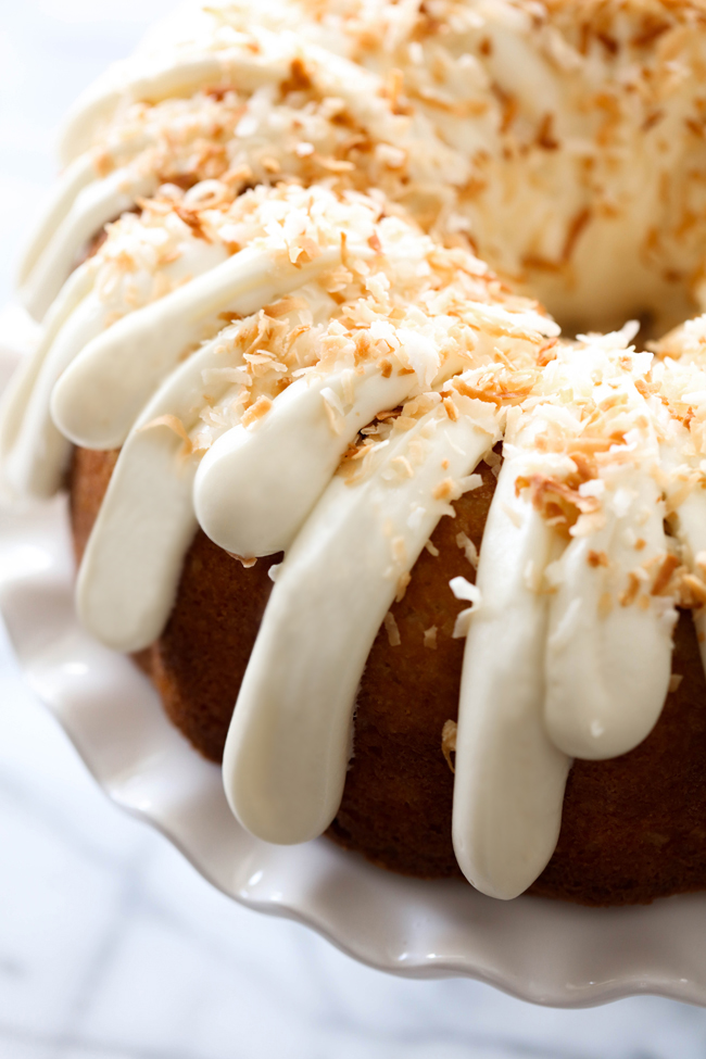 Coconut Bundt Pound Cake