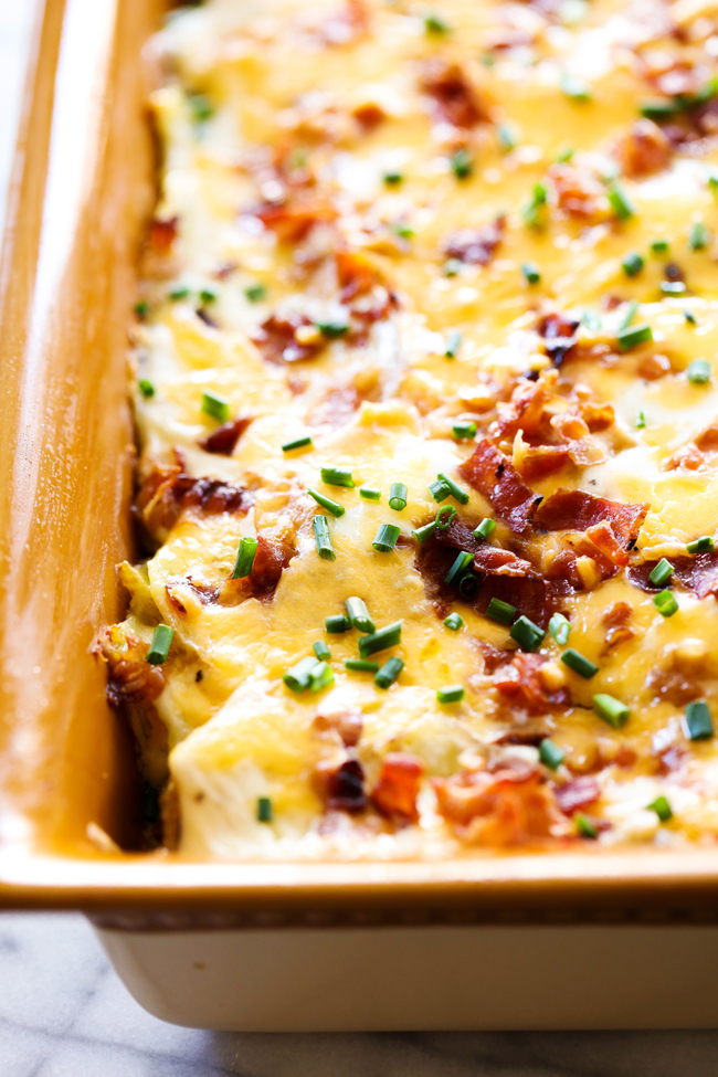 Loaded Scalloped Potatoes Chef In Training