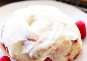 Raspberry Sweet Rolls... These are fantastic! A delicious raspberry cream cheese filling swirled in soft bread and topped with an incredible Cream Cheese Frosting.