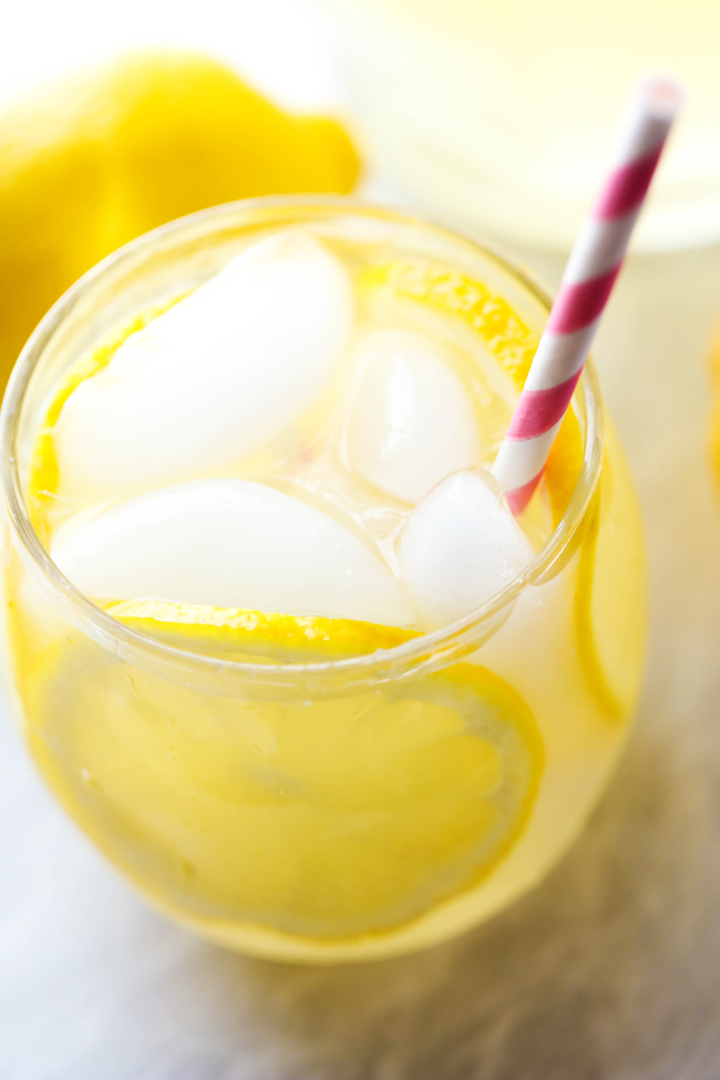BEST EVER Homemade Lemonade... This lemonade has the most delicious ...