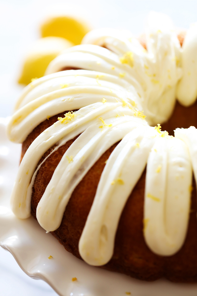 Cream Cheese Frosting For A Lemon Cake