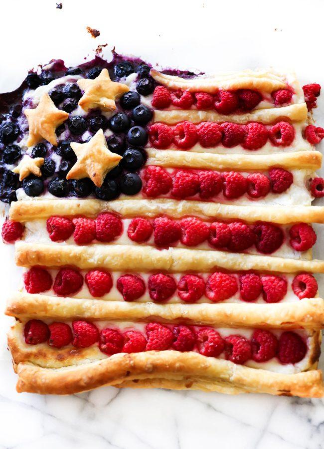 Patriotic Danish Pastry Dessert - Chef in Training