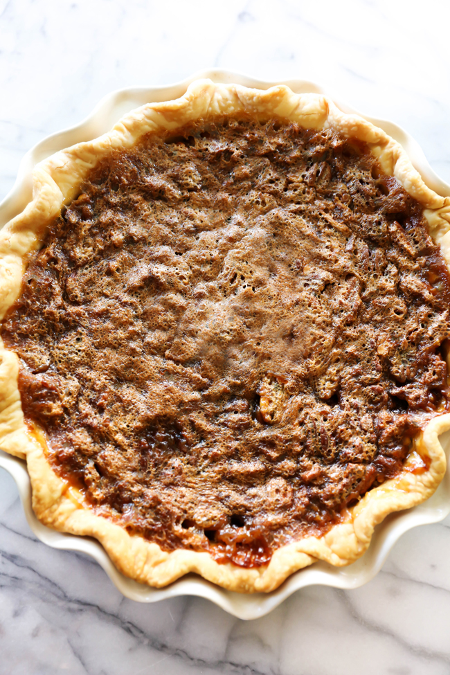 This Pecan Pie is a classic and timeless recipe perfect for any occasion! It is absolutely so delicious and a crowd favorite!
