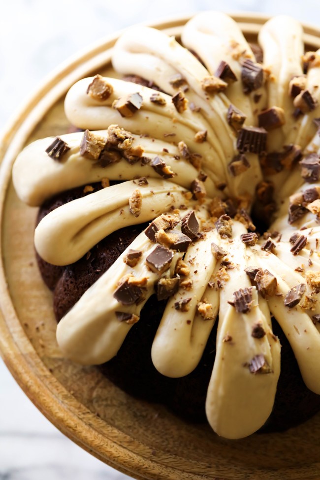 Chocolate Bundt Cake Cream Cheese Frosting