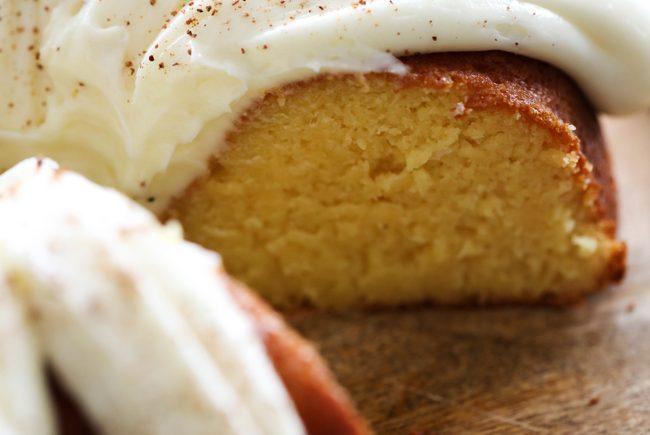 Eggnog Bundt Cake Easy Recipe