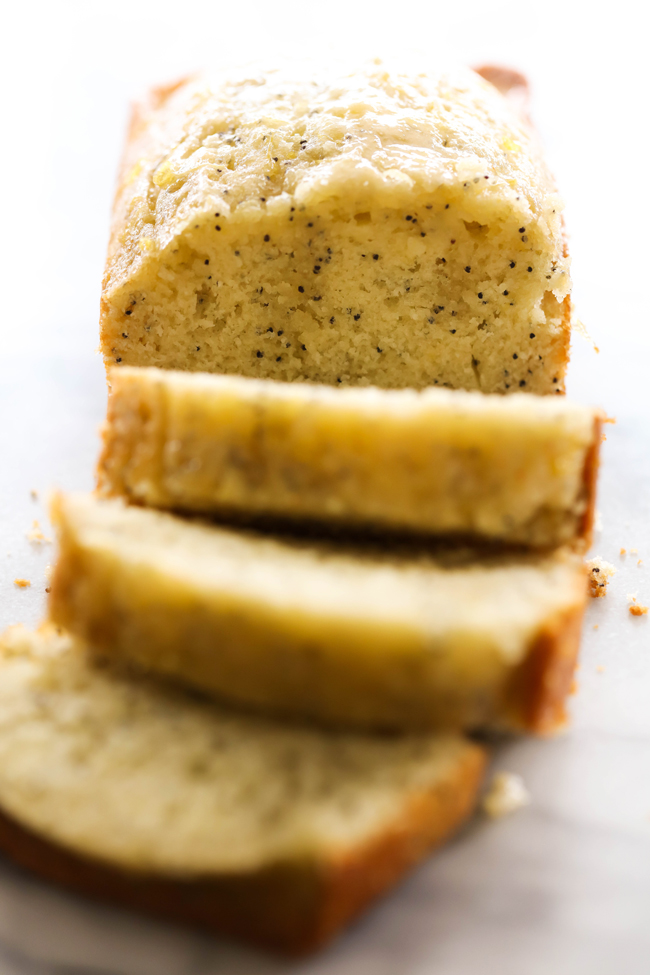 This Lemon Poppy Seed Bread is so moist and the flavor is unbelievably delicious! With it's subtle yet refreshing lemon taste, this will be one quick bread you want to make over and over again!
